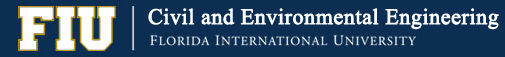 Department of Civil and Environmental Engineering – FIU