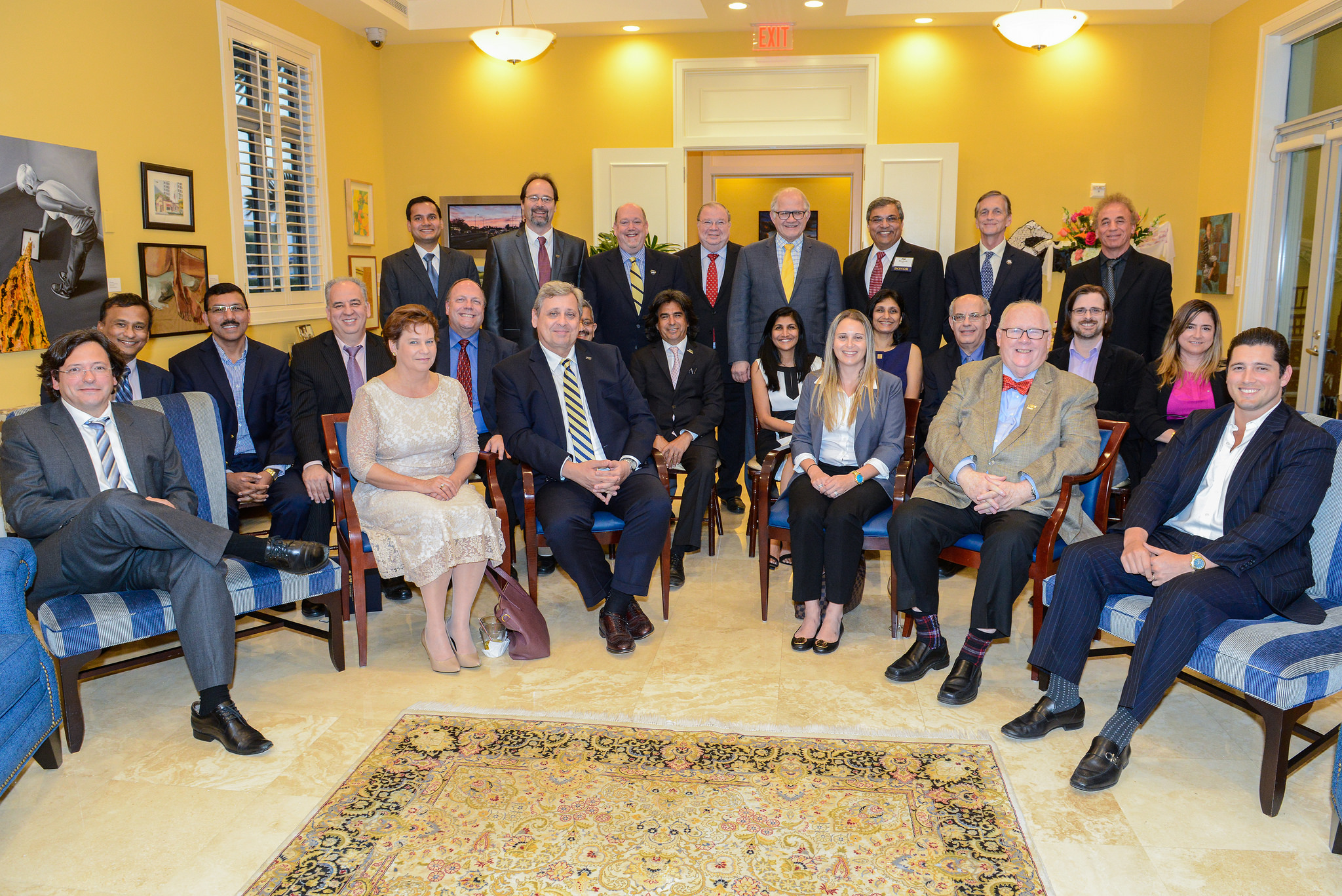 FIU News: Donors, faculty strengthen partnerships at inaugural Endowed Faculty Reception